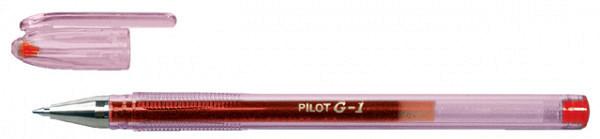 Gelschrijver PILOT G1 rood 0.32mm