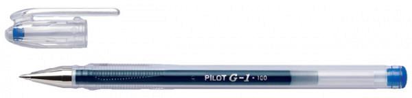 Gelschrijver PILOT G1 blauw 0.4mm