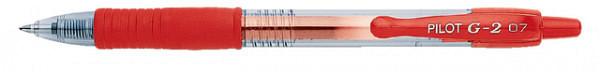 Gelschrijver PILOT G2 rood 0.4mm