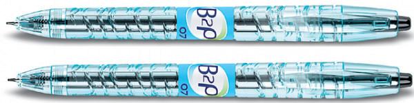 Gelschrijver PILOT B2P Begreen zwart 0.4mm