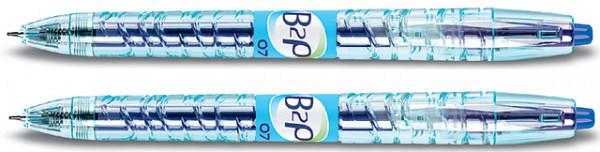 Gelschrijver PILOT B2P Begreen blauw 0.4mm