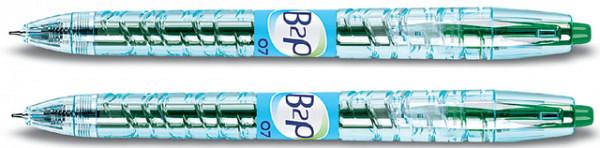 Gelschrijver PILOT B2P Begreen groen 0.4mm