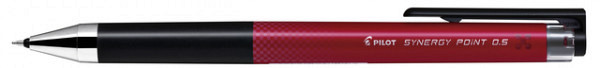 Gelschrijver Pilot Synergy BLRT-SNP5 0.25mm rood