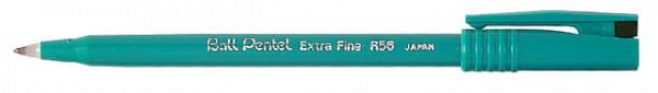 Rollerpen Pentel R56 zwart 0.3mm