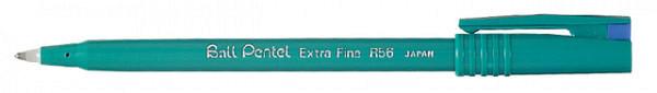 Rollerpen Pentel R56 blauw 0.3mm