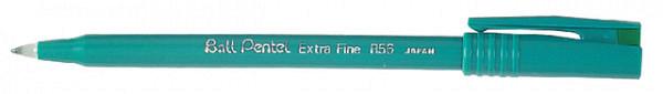 Rollerpen Pentel R56 groen 0.3mm