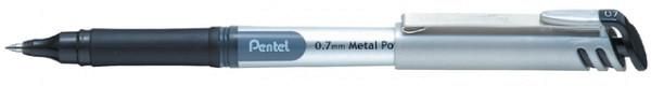 Rollerpen Pentel BL17 zwart 0.4mm