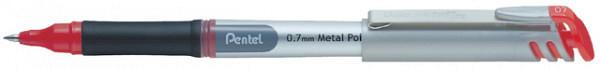 Rollerpen Pentel BL17 rood 0.4mm