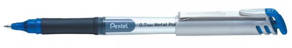 Rollerpen Pentel BL17 blauw 0.4mm