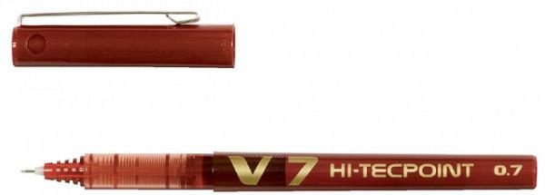 Rollerpen PILOT Hi-Tecpoint V7 rood 0.5mm