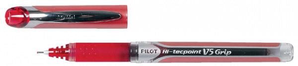 Rollerpen PILOT Hi-Tecpoint grip V5 0.3 rood