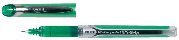 Rollerpen PILOT Hi-Tecpoint grip V5 0.3 groen