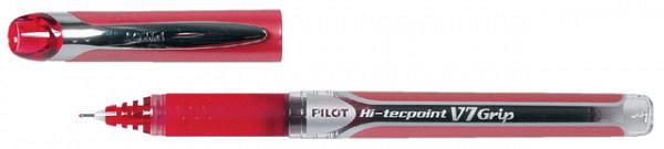 Rollerpen PILOT Hi-Tecpoint grip V7 0.4mm rood