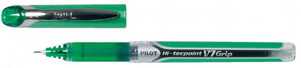 Rollerpen PILOT Hi-Tecpoint grip V7 0.4mm groen