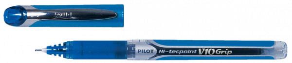 Rollerpen PILOT Hi-Tecpoint grip V10 0.6mm blauw