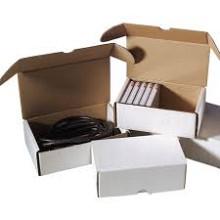 Postpakketdoos Golfkarton met deksel 180x110x71mm wit