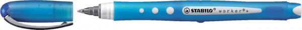 Rollerpen STABILO worker 0.5mm colorful 2019/41 blauw