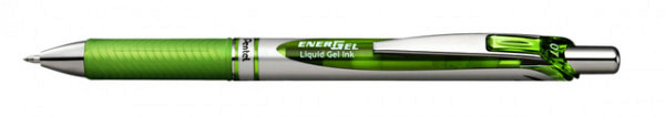 Gelschrijver Pentel Energel BL77 lichtgroen 0.4mm