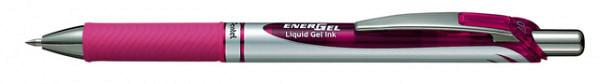 Gelschrijver Pentel Energel BL77 roze 0.4mm