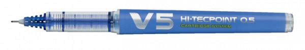Rollerpen PILOT begreen Hi-Tecpoint V5 0,3mm blauw