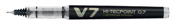 Rollerpen PILOT begreen Hi-Tecpoint V7 0.5mm zwart