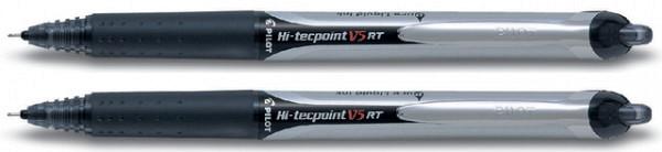 Rollerpen PILOT Hi-Tecpoint V5 RT zwart 0.25mm