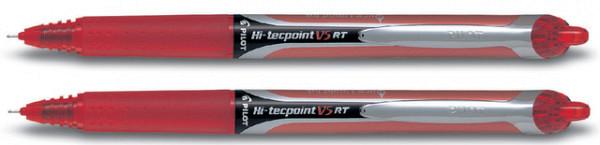Rollerpen PILOT Hi-Tecpoint V5 RT rood 0.25mm