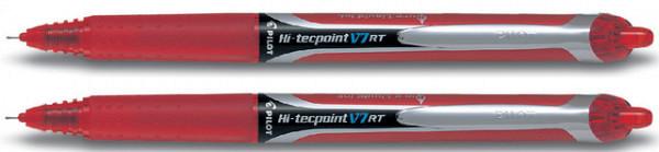 Rollerpen PILOT Hi-Tecpoint V7 RT rood 0.35mm