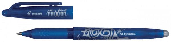 Rollerpen PILOT Frixion BL-FR7 lichtblauw-turquoise  0.35mm