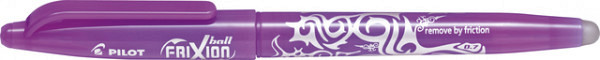 Rollerpen Pilot Frixion BL-FR7 0.35mm paars