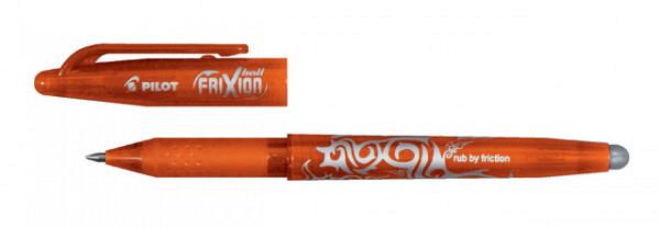 Rollerpen PILOT Frixion BL-FR7 oranje  0.35mm