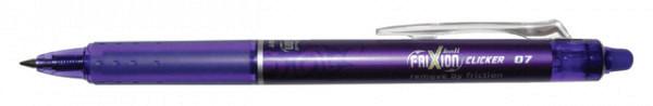 Rollerpen PILOT Frixion Clicker paars  0.35mm