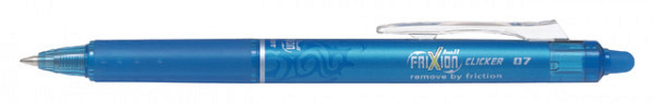 Rollerpen PILOT Frixion Clicker lichtblauw  0.35mm