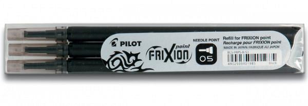 Rollerpenvulling PILOT Frixion Hi-Tecpoint zwart 0.25mm