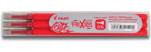Rollerpenvulling PILOT Frixion Hi-Tecpoint rood 0.25mm
