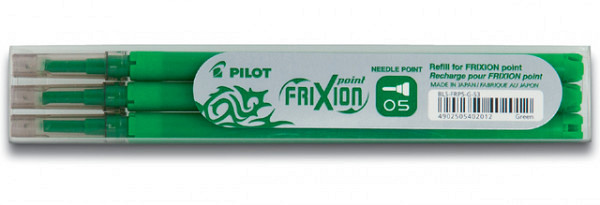 Rollerpenvulling PILOT Frixion Hi-Tecpoint groen 0.25mm