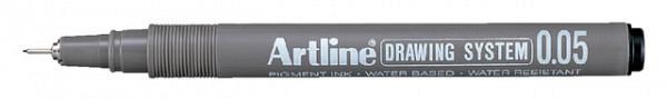 Fineliner Artline 0.05mm zwart