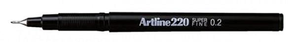 Fineliner Artline 220 rond 0.2mm blauw