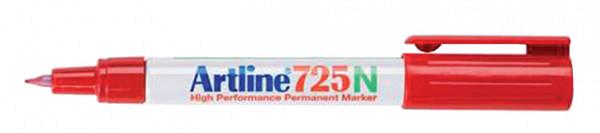 Fineliner Artline 725 rond 0.4mm rood
