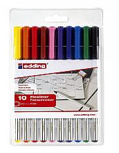 Fineliner Edding 89/10 assorti blister à 10 stuks