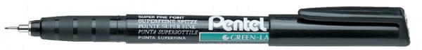 Fineliner Pentel NMF50 zwart 0.4mm