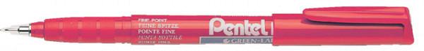 Fineliner Pentel NMF50 rood 0.4mm