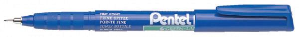Fineliner Pentel NMF50 blauw 0.4mm