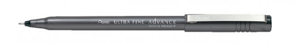 Fineliner Pentel SD570 zwart ultra fijn 0.3mm