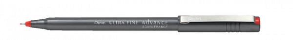 Fineliner Pentel SD570 rood ultra fijn 0.3mm