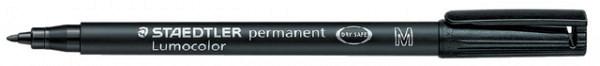 Viltstift Staedtler Lumocolor 317 permanent M zwart