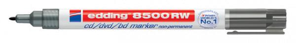 Cd marker edding 8500 rond zwart 1.0mm