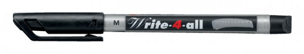 Viltstift STABILO Write-4-All 146/46 permanent medium zwart