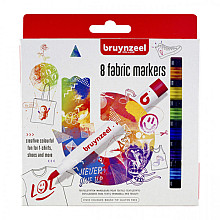 Viltstift Bruynzeel textiel assorti