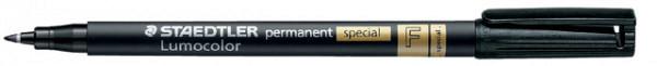 Viltstift Staedtler Lumocolor 319 special permanent F zwart